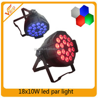 Outdoor par stage lights 18X10W RGBW 4in1 led par water proof ZOOM
