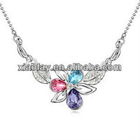 N9389 2013 high quality design flower pendant necklace