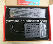 Perfect mini Decoder with IKS account DVB-S2 Azlcass Mini HD TV Reciever support youtube, multi-cas for South America