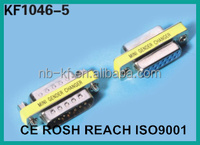 d-sub d sub mini gender changer vga 15pin female adapter