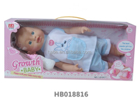 16 inch growing interactive intelligent doll boy baby doll toys wholesale function doll toys