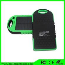 Moins cher prix 5000 mah timeproof externe batterie de secours avec LED pour smallphones