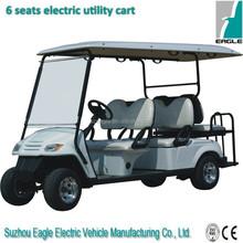 Electric mini utility vehicle,6 seats electric golf cart,utility golf car