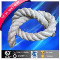 long life span 3-strand polyester mooring rope