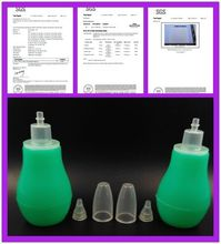 silicone manual vacuum nose aspiration for baby