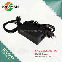 12V series security power supply or power adaptor output 4channels/4ways