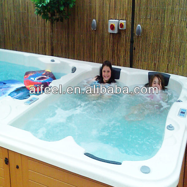Luxury used above ground sales prefabricated swimming pool for Luxury above ground pools