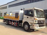 Truck mounted Concrete Pump machine 60m3/h diesel Deutz engine for hot sale