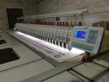 615-250 flat computerized embroidery machine