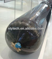 Type-III fully wrapped carbon fiber reinforced aluminum lined composite CNG cylinder for vehicle
