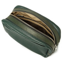 Top Quality Leather Wash Bag Waterproof Mens Wash Bag Toilet Bag