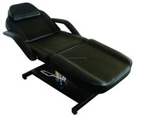 2015 especial de elevación hidráulica belleza cama para peluquería / Spa y equipos de uñas para masaje