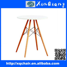XQ-001 New Round Dining Table Design with Four Legs