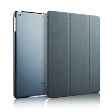 with kickstand function ,flip leather case for ipad air 2
