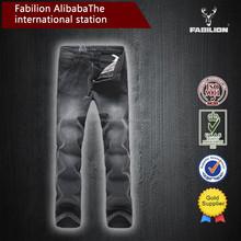 cheap Color Fade Proof men bulk wholesale rock revival jeans
