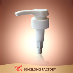 china manufacture hot and Popular sale !!! bathroom shampoo bottle useing special head shape 33mm big dia Plastic lotion pump