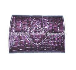 2012 fashion leather cosmetic bag