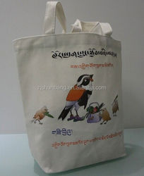 cotton bag/ natural cotton canvas tote bag/ plain white cotton bag from bangladesh plain white