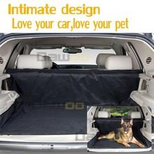 Tronco perro asiento de coche cubierta para animales coches cobertor ( 150 cm ) coches producto gris / color negro