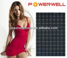 Powerwell Solar Super Quality And Competitive Price Panel Solar With CE,CEC,IEC,TUV,ISO,INMETRO Approval Standard