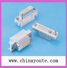 DVI 24+5P Femal TYPE Connector with Right angle