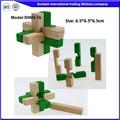 Gros jouet éducatif 3d puzzle en bois