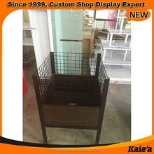Fast Ship New Custom grocery store display table ,grocery promotion table
