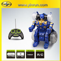 rc trans-robot car plastic robot model