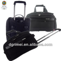2015 hot sale 3pcs polyester EVA travelling luggage and bag