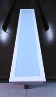 dust proof light clean room light fittings with aluminum reflector