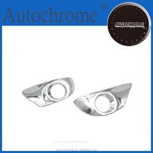 Chrome edge trim, car accessory car accessory chrome tail light cover - for Toyota Verso