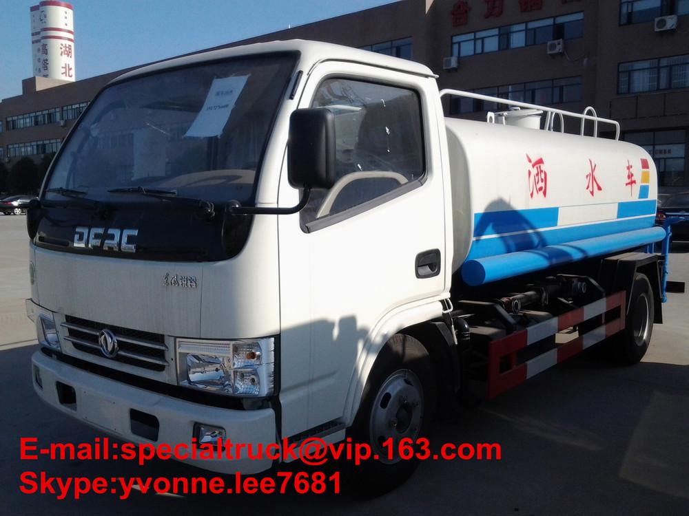 New Euro 4 Water tanker truck DFAC 10cbm