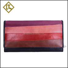 woman genuine leather wallet purse phone case in guangzhou