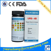 diagnostic kits urine test, 4 para blood urine strips