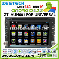 ZESTECH 4.4.4 android Universal Car dvd player with gps navigation