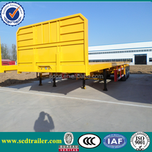 2015 flatbed trailers for one 40 feet or two 20 feet container