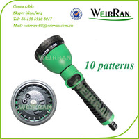 (84547) Revolve hose end sprayer, jet trigger water gun plastic garden sprayer
