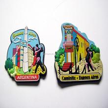 soft pvc tourist souvenir fridge magnet