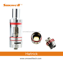 Smowell vape mod tank with 510 thread and stainless steel tank hatrick fit for cigreen original cracks box mod dual mosfets