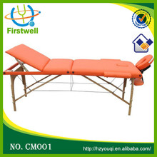 Quality Solid Wood Leg Foldable Wooden Massage Table