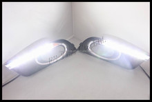 car accessories led lights lamps led drl/daytime running lights for honda civic 2012 2013