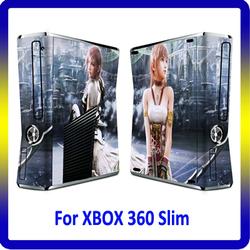 For XBOX360 Sticker Vinyl Skin for Slim Console Customer Design Accepted
