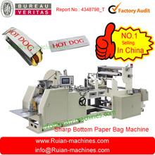 palomitasdemaíz automática de la bolsa de papel que hace la máquina