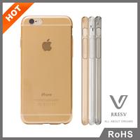 JULES.V slim tpu clear plastic phone case manufacturer for iphone 6 clear case