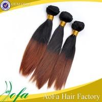 Unprocessed Cheap Virgin beautiful malaysian two tone braiding hair
