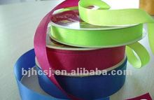 high quality custom satin ribbons with various colors, size