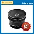 Producto caliente! 180 grados con macro, 58mm de lente ojo de pez 0.25X