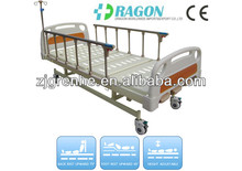 DW-BD148 metal medical bed with 3 functions three crank hospital manual bed