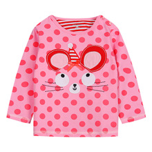 Factory price child long sleeve t shirt for kids wear 100% strench cotton spot t shirt wholesale China baby t shirt (Ulik-T15)