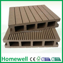 basketball flooring hollow wood plastic composite deck
